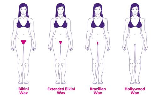 Area bikini wax foto 140